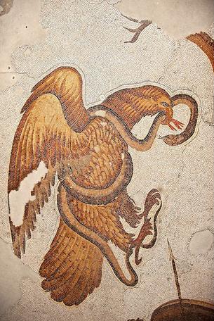 έκτος αίωνας βυζαντινό σύμβολο αετού